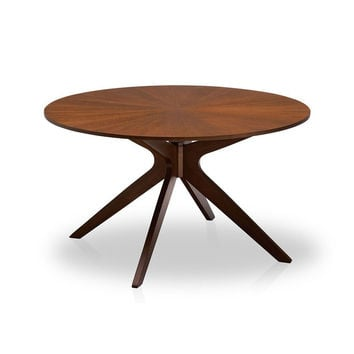 6 Seater Wood Round Dining Table - Conan | Modern, Mid-Century & Scandinavian | GFURN