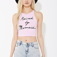 MYVL Raised by Mermaids Crop Top