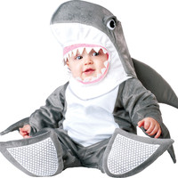 toddler boy's costume: silly shark 12-18m