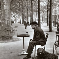 Jacques Prevert Paris, 1955 Print by Robert Doisneau at eu.art.com