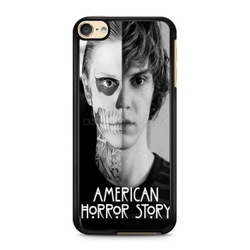 iPod Touch 4 5 6 case, iPhone 6 6s 5s 5c 4s Cases, Samsung Galaxy Case, HTC One case, Sony Xperia case, LG case, Nexus case, iPad case, American Horror Story Skull Tate Cases