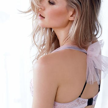 Lace & Tulle Push-Up Bra - Dream Angels - Victoria's Secret