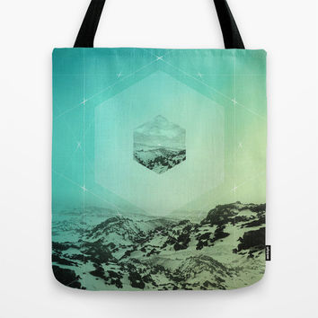 A Place Called Elsewhere Tote Bag by Soaring Anchor Designs