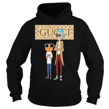Rick and Morty Gucci shirt Hoodie