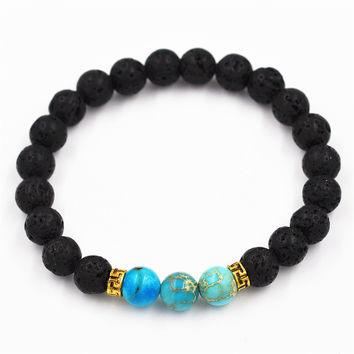 Gift New Arrival Great Deal Awesome Shiny Hot Sale Stylish Blue Bracelet [4970312324]