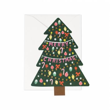Christmas Tree Greeting Card by RIFLE PAPER Co. | Made in USA