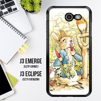 Beatrix Potter Peter Rabbit V1584 Samsung Galaxy J3 Emerge, J3 Eclipse , Amp Prime 2, Express Prime 2 2017 SM J327 Case