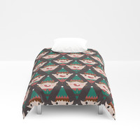Day 22/25 Advent - Little Helpers Duvet Cover by lalainelim