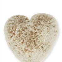 Buy Polar Heart Faux Fur Cream Cushion from the Next UK online shop