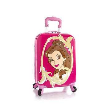 Heys Disney Princess 3D Spinner Luggage [Belle]
