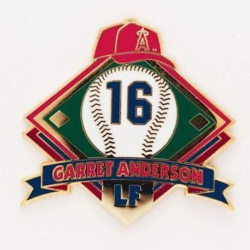"""Licensed Los Angeles Angels Official MLB Approx. 1"""" wide Lapel Pin L.A. Wincraft 507808 KO_19_1"""