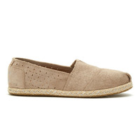 TOMS Suede Oxford Rope Shoes