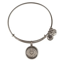 Alex and Ani Golf Ball Charm Bangle - Russian Silver