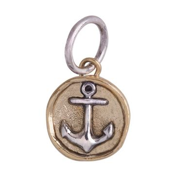 Waxing Poetic Camp Anchor Charm