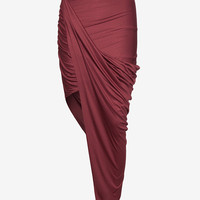 Helmut Lang EXCLUSIVE Jersey Wrap Skirt-All Bottoms-Bottoms-Clothing-Categories- IntermixOnline.com