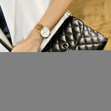Stylish Leather Chain Tassels One Shoulder Bags [6582746567]