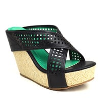 Black Sallie Platform Sandal | something special every day