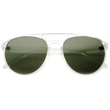 European Retro Tear Drop Aviator Sunglasses 9747
