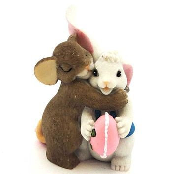 Charming Tails Thank You For The Sweetness You Give Easter & Spring Figurine