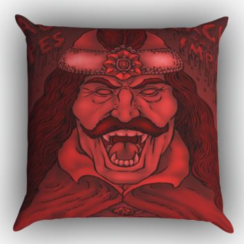 Vlad The Impaler Dracula Z0728 Zippered Pillows  Covers 16x16, 18x18, 20x20 Inches