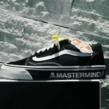vans MASTERMIND Men and women skateboard shoes casual shoes