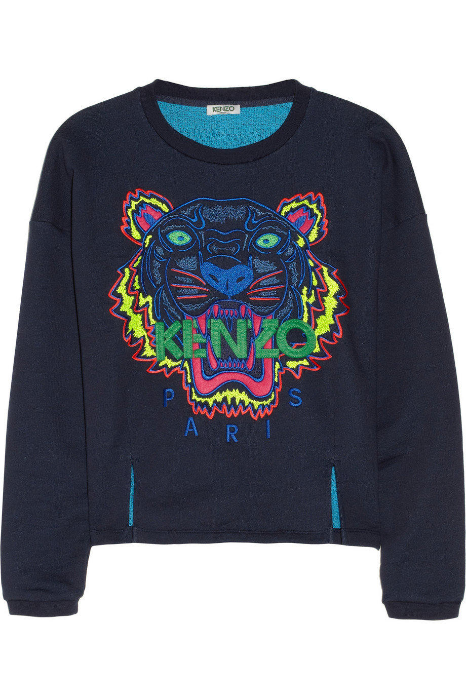 Kenzo Tiger Embroidered Cotton From Net A Porter Epic