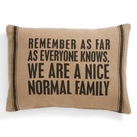 Primitives by Kathy 'Normal Family' Pillow | Nordstrom