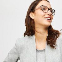 Tortoiseshell Print Cateye Reading Glasses | LOFT