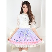 Sweet Lolita Unicorn Skirt
