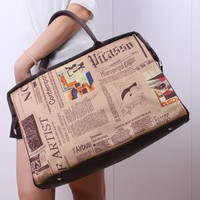 Vintage Hobo Women Shoulder Bag Leather Tote Handbag Messenger Purse Satchel