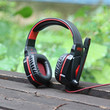 Gaming Headset Stereo Sound 2.2M Wired Headphone Noise Reduction with Microphone for Computers iPhone iPod Smartphone Tablet PC