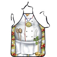 Quality Creative Chef Pattern Printed Apron