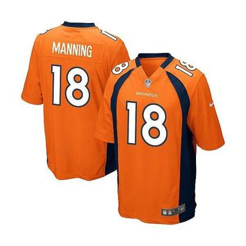 Youth Nike Denver Broncos Payton Manning Game Team Color Jersey