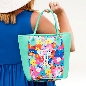 Drink In My Hand - Poppy Cooler Tote | Driftwood Market