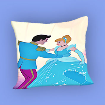 cinderella dancing for Pillow Case, Pillow Cover, Custom Pillow Case **