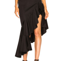 Alexis Cameo Skirt in Black | FWRD