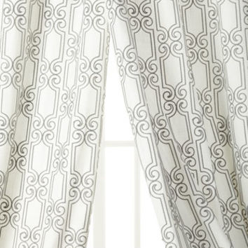 Softline Home Fashions Banning Curtains