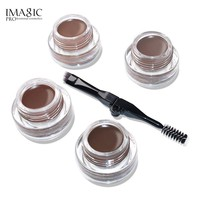IMAGIC Professional Eyebrow Gel 6 Colors Waterproof  Eyebrow Tint With Brow Brush Eyebrow Enhancer Makeup Beauty Tools