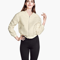 Quilted Pilot Jacket - from H&M