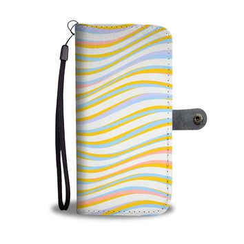 The Color Wave Phone Wallet Case