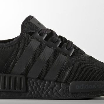 Tagre™ Adidas NMD R1 Triple Black Mesh Core All Blackout Boost S31508 Sz 8~13 AUTHENTIC