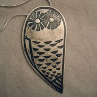 BFF Owl Necklace