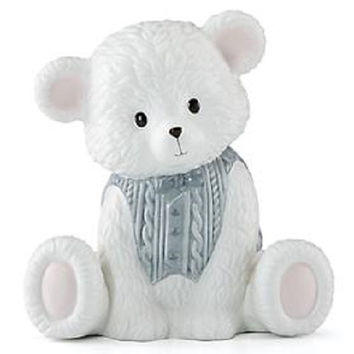 "Baby Bear ""Boy Bank"" By Lenox"