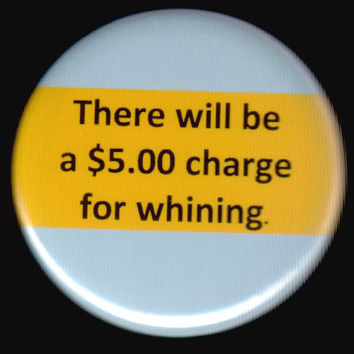 Whining Charge Button by kohaku16 on Etsy