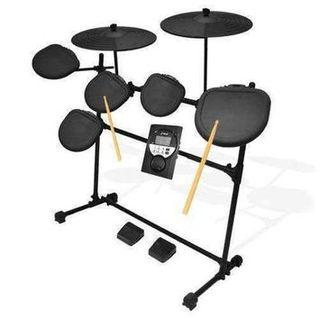 Digital Drum Set, Electronic Drum Machine System (7-Pad Drum Kit)