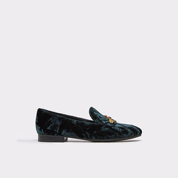 Caveny Forest Green Women's Brogues & loafers | ALDO UK