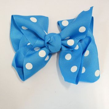 Plain Chunky Hair bow