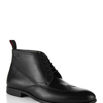 Leather lace-up shoes: 'C-Modito'