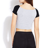 Easy Colorblocked Crop Top