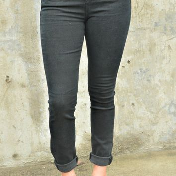 No Rush Skinnies- Black